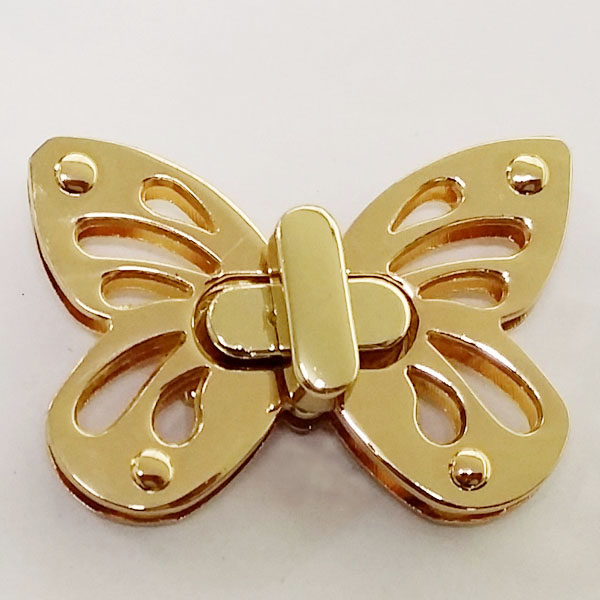 잠금장식 나비 (골드)